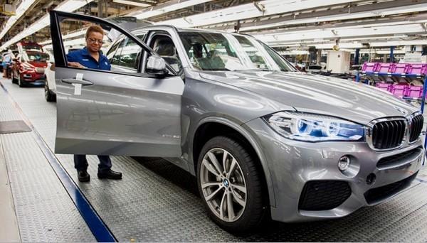 BMW - début de production du X5 à Spartanburg