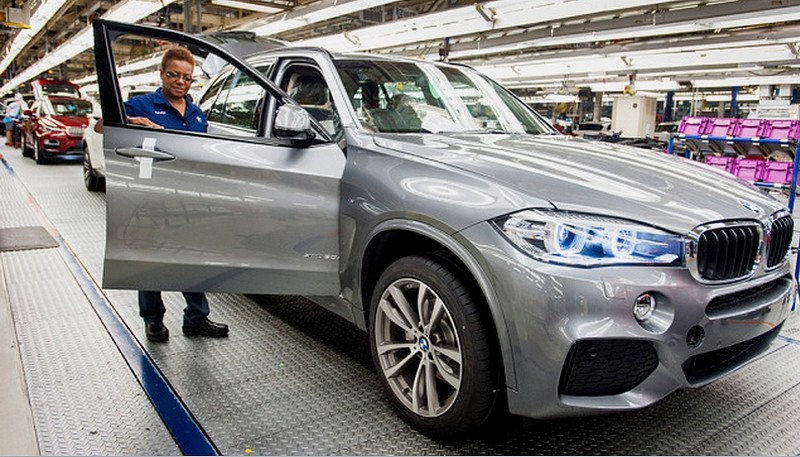 BMW - début de production du X5 à Spartanburg