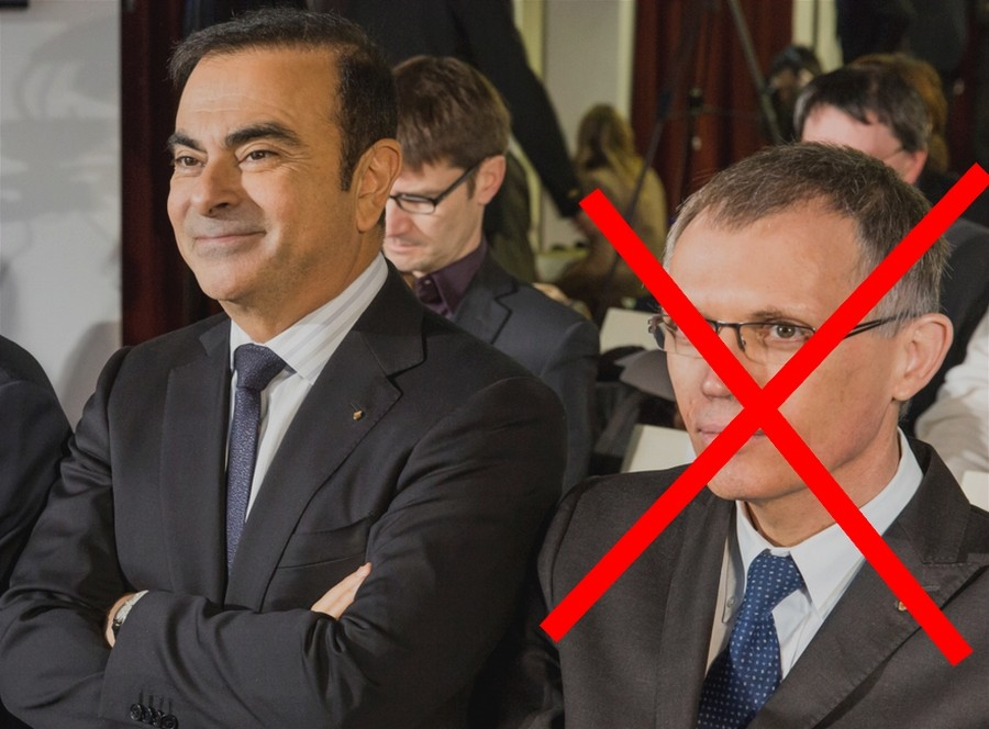 Carlos Ghosn vire Carlos Tavarès chez renault
