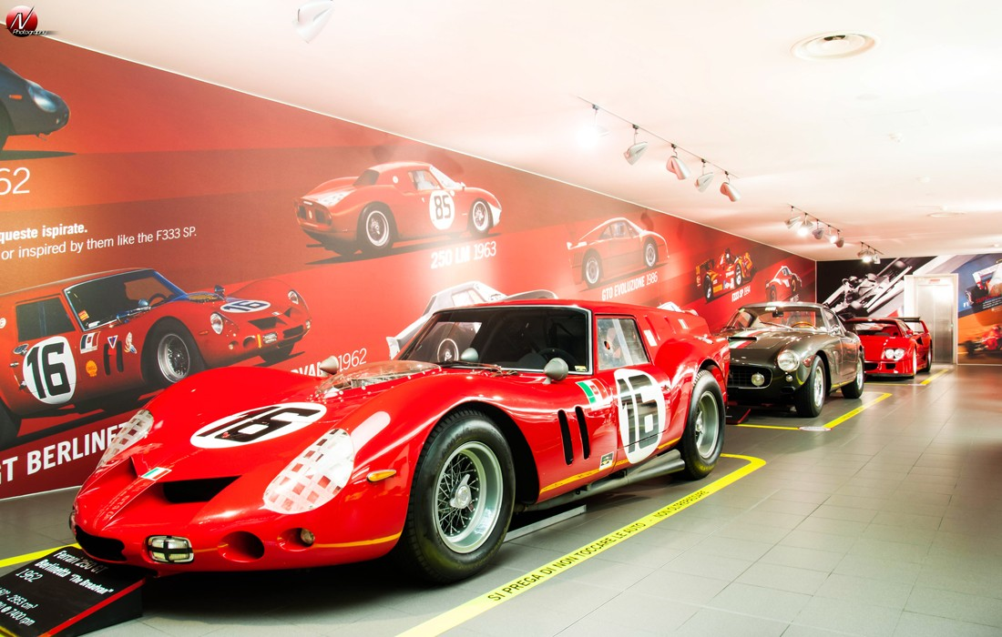 visite au museo ferrari de maranello ! - blog automobile