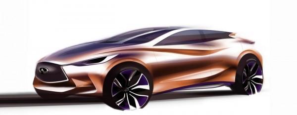 Sketch Infiniti Q30 Concept