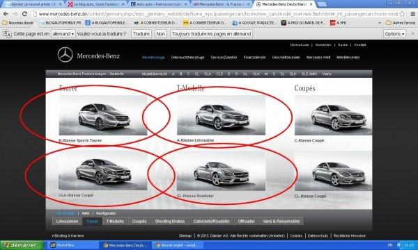 Les 4 modèles Mercedes Benz interdits en France