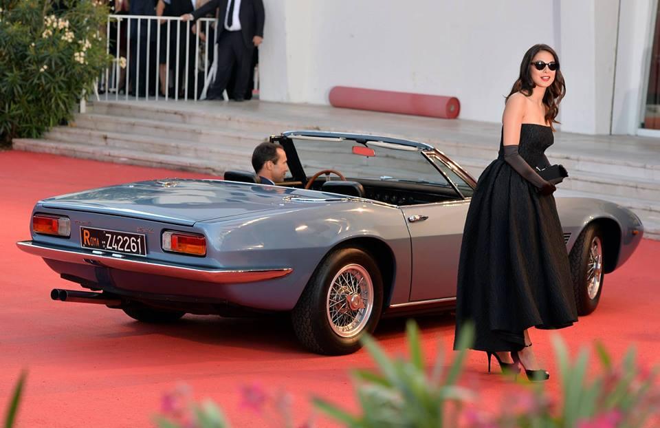 Maserati Ghibli Spider à la 70eme Mostra de Venise