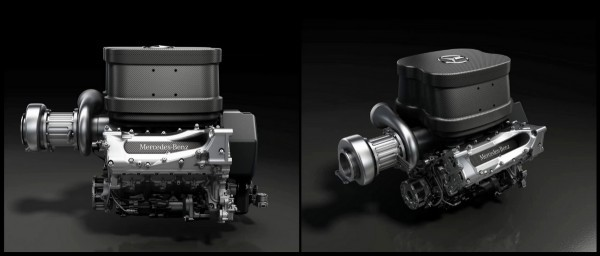 Moteur Mercedes Benz V6 1.6 L Turbo F1 2014.1