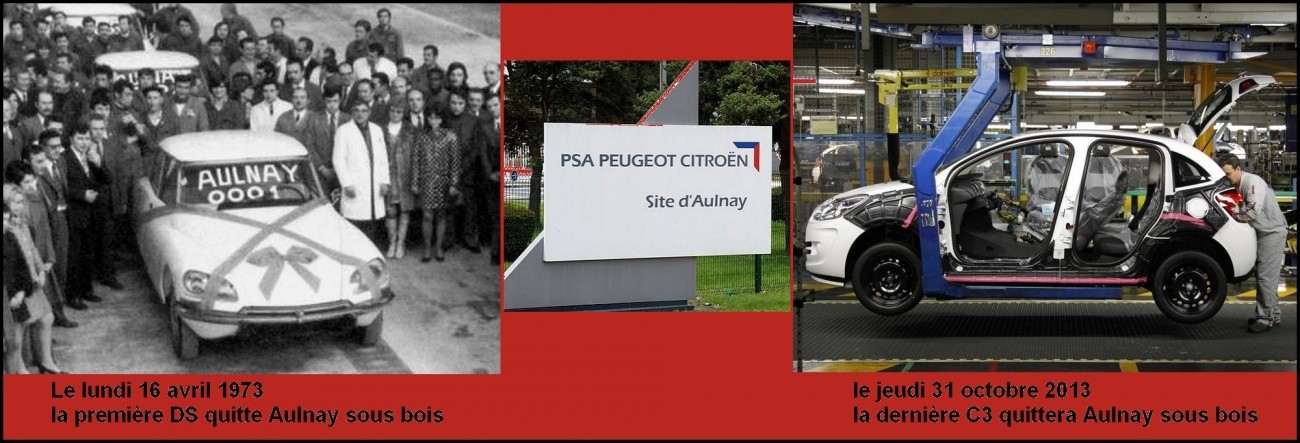 PSA Aulnay sous bois ne produira plus de voiture le 31 octobre 2013
