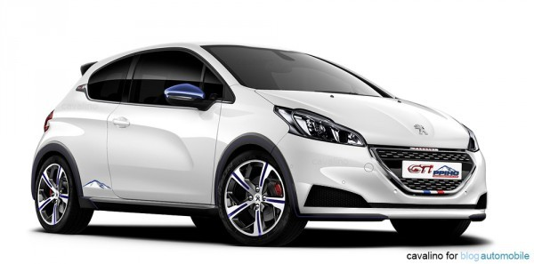 Peugeot 208 pikes peak par Cavalino pour blogautomobile