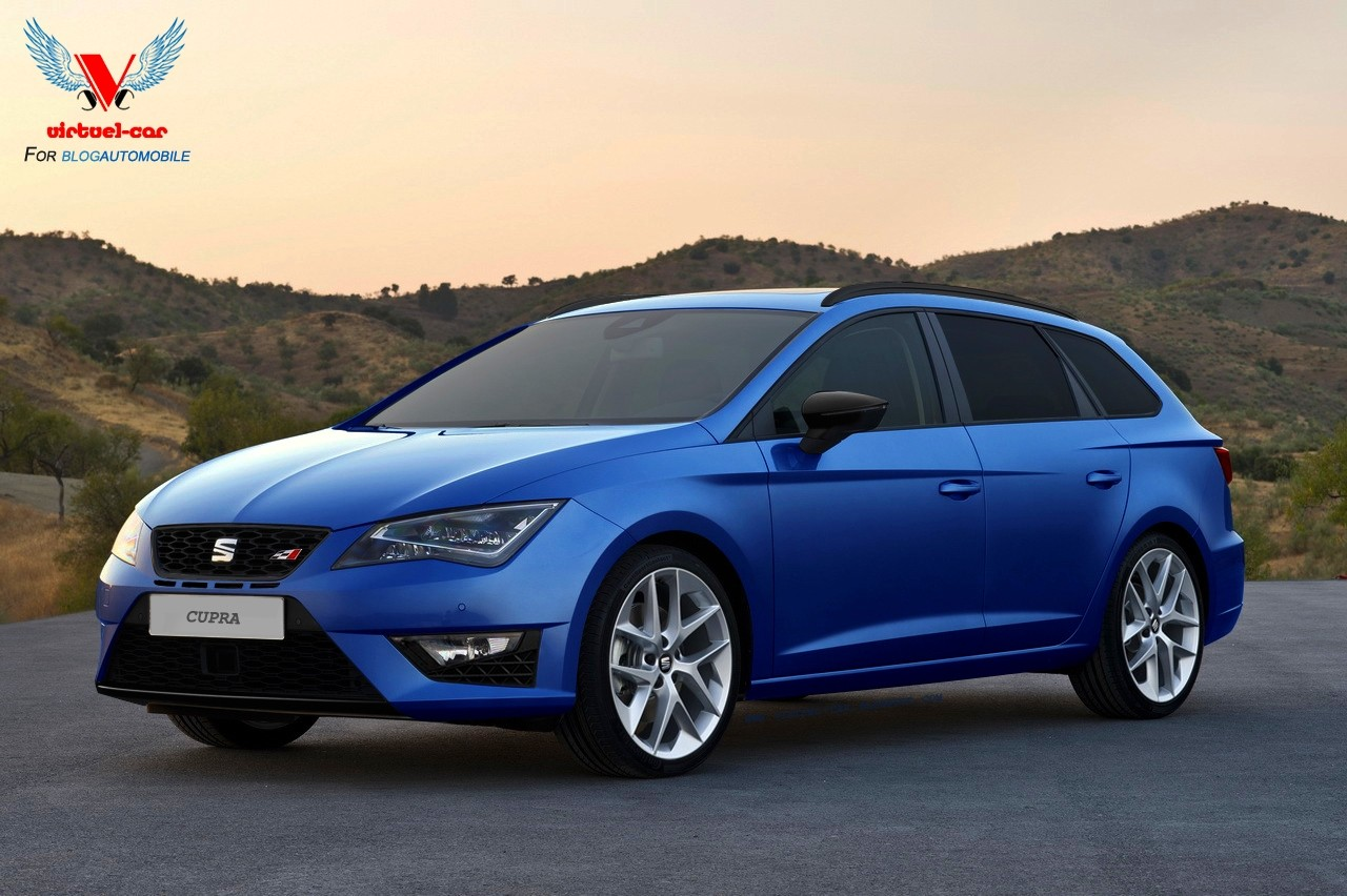 seat une leon st cupra en approche des bruits de couloir blog automobile. Black Bedroom Furniture Sets. Home Design Ideas