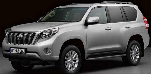Toyota Land Cruiser restylé 2014.1