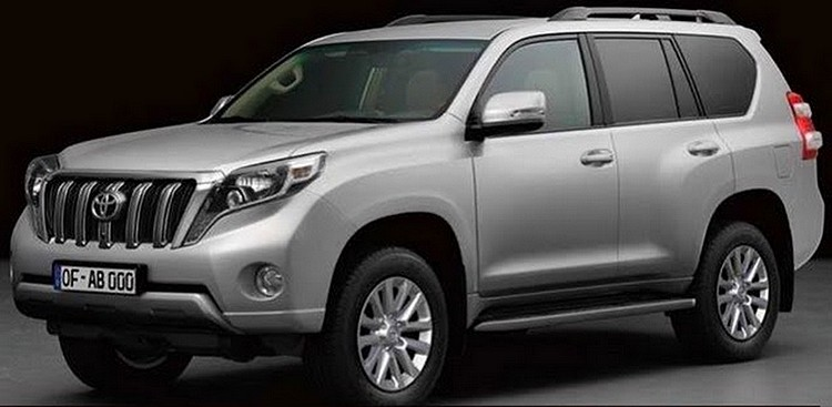 voiture 4x4 toyota land cruiser