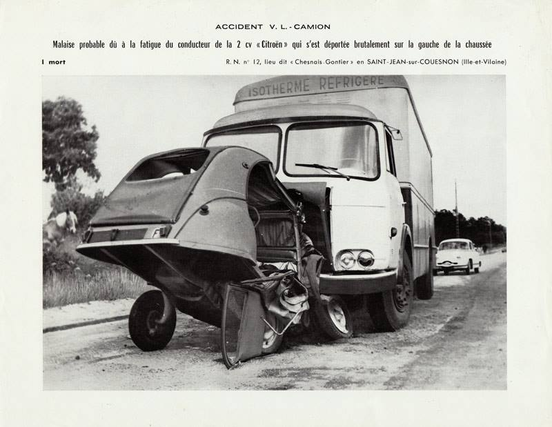 accident de la route