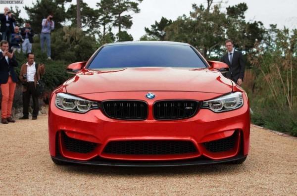 BMW-M4 F82 2014 Rouge