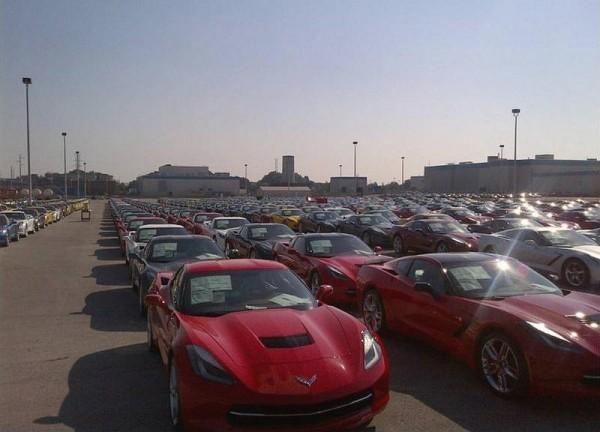 Corvette Stingray premières livraisons.0