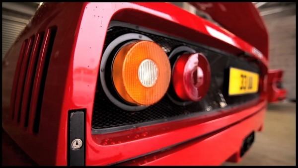 Ferrari F40 vs Ferrari F50