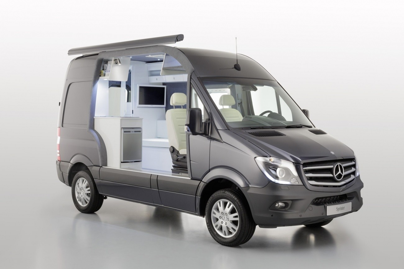 mercedes benz sprinter caravan concept blog automobile. Black Bedroom Furniture Sets. Home Design Ideas