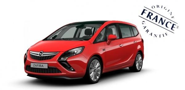 Opel zafira  PSA sochaux