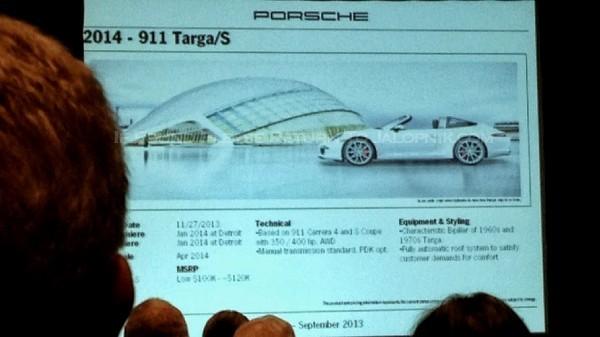 Porsche  programme 2014.2