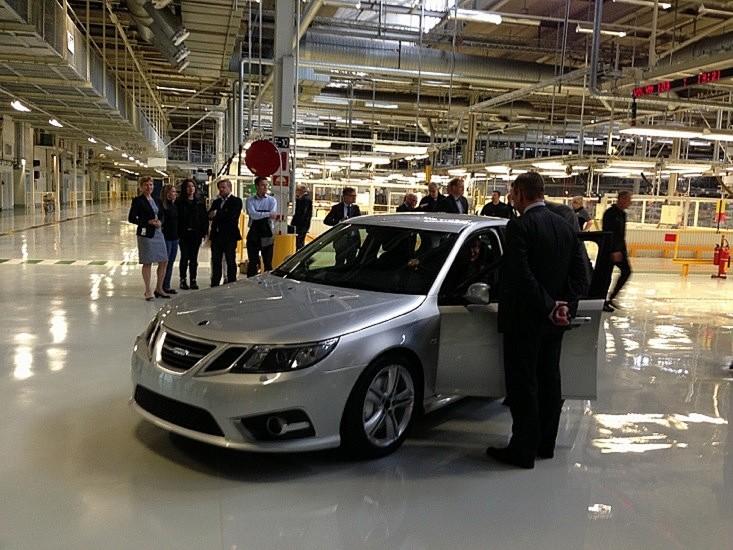Saab 9-3 pré serie par SAAB NEVS