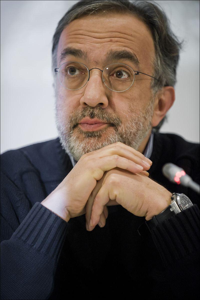 Sergio marchionne dubitatif devant le rachat de Chrysler
