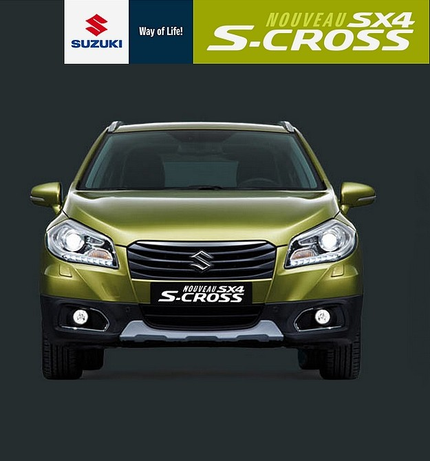 suzuki sx4 s cross en concession et avec des prix sp cifications vid os blog automobile. Black Bedroom Furniture Sets. Home Design Ideas