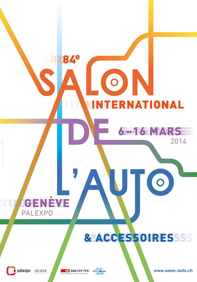 Salon de l 39 auto de gen ve 6 16 mars 2014 il s 39 annonce - Salon international de l automobile de geneve ...