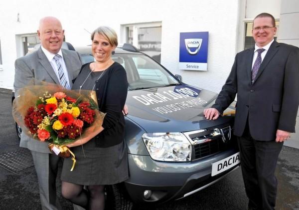 10000 Dacia in UK