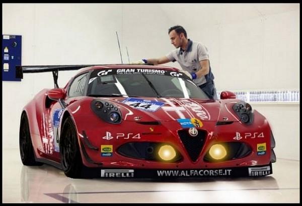 Alfa Romeo 4C Competizione