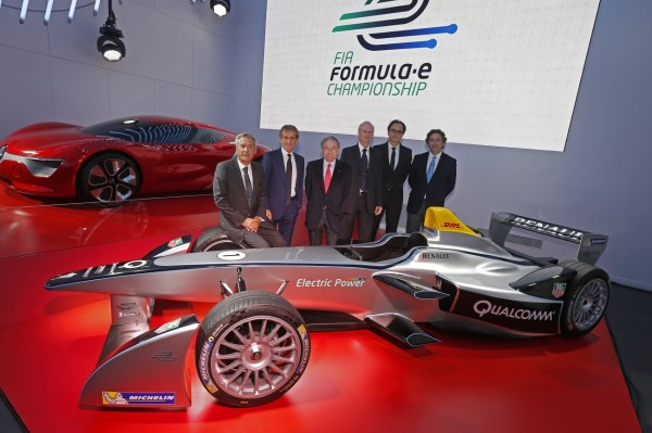 Alain Prost et JP Driot lance e-DAMS