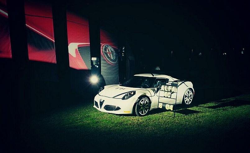 Alfa Romeo 4C sur le Ring