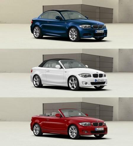 BMW Serie 1 Coupé et Cabriolet