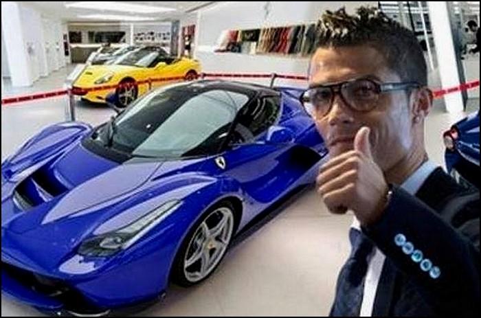 Cristiano Ronaldo se paye une LaFerrari