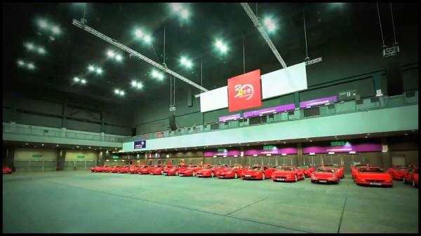 Ferrari fête 30 ans de présence à Hong Kong
