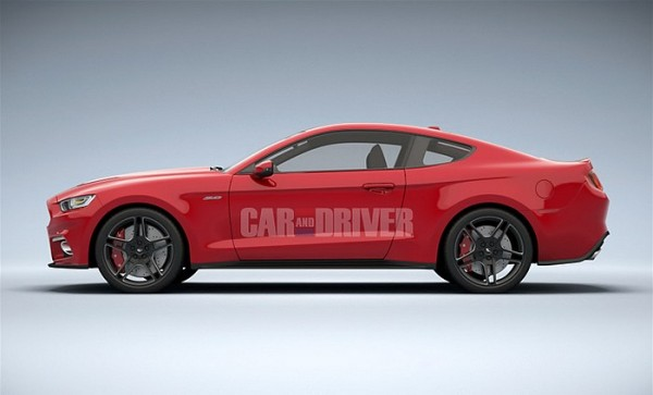 Ford Mustang 2014-2015.0