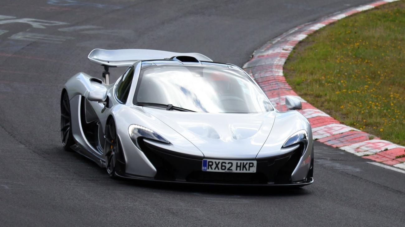 McLaren P1 sur le Ring