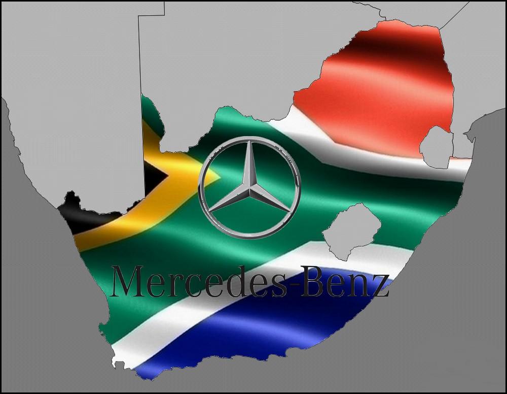 Mercedes benz en Afrique du sud