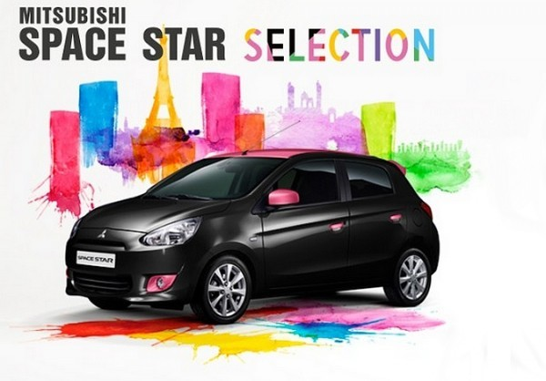 Mitsubishi Space Star Selection....