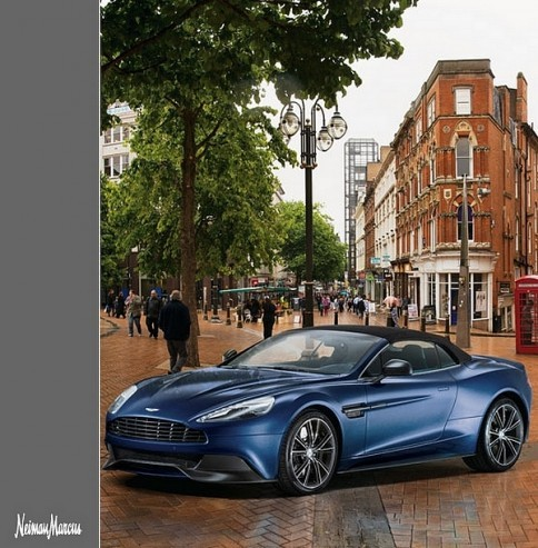 Neiman Marcus vend une Aston Martin Vanquish Volante pour noël 2013