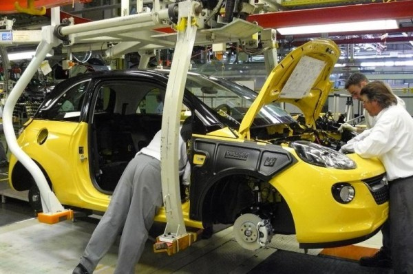 Production Opel Adam à la baisse
