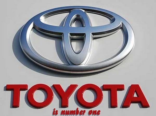 Toyota est numéro 1 mondial