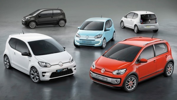 VW UP! 250.000 ex sur les routes d'Europe.