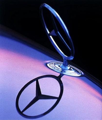 emblème de capot mercedes benz