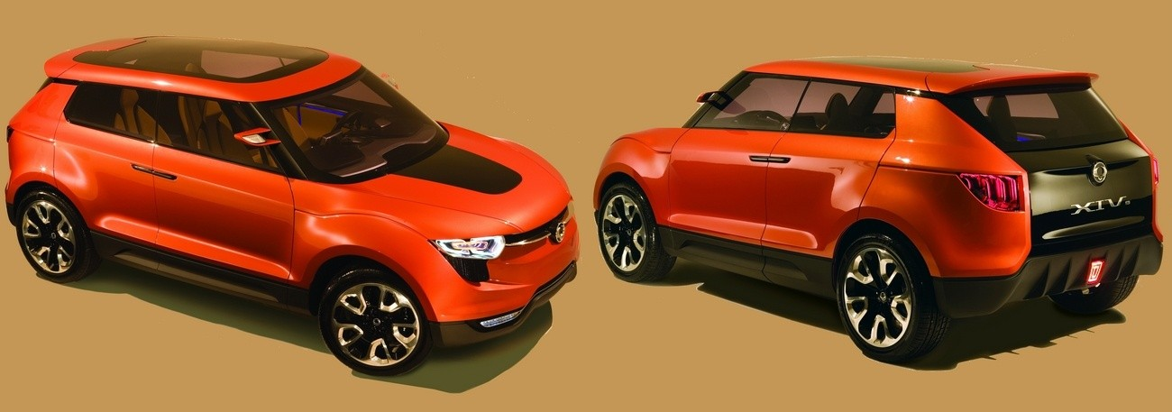 ssangyong aura son mini suv en 2014 blog automobile. Black Bedroom Furniture Sets. Home Design Ideas