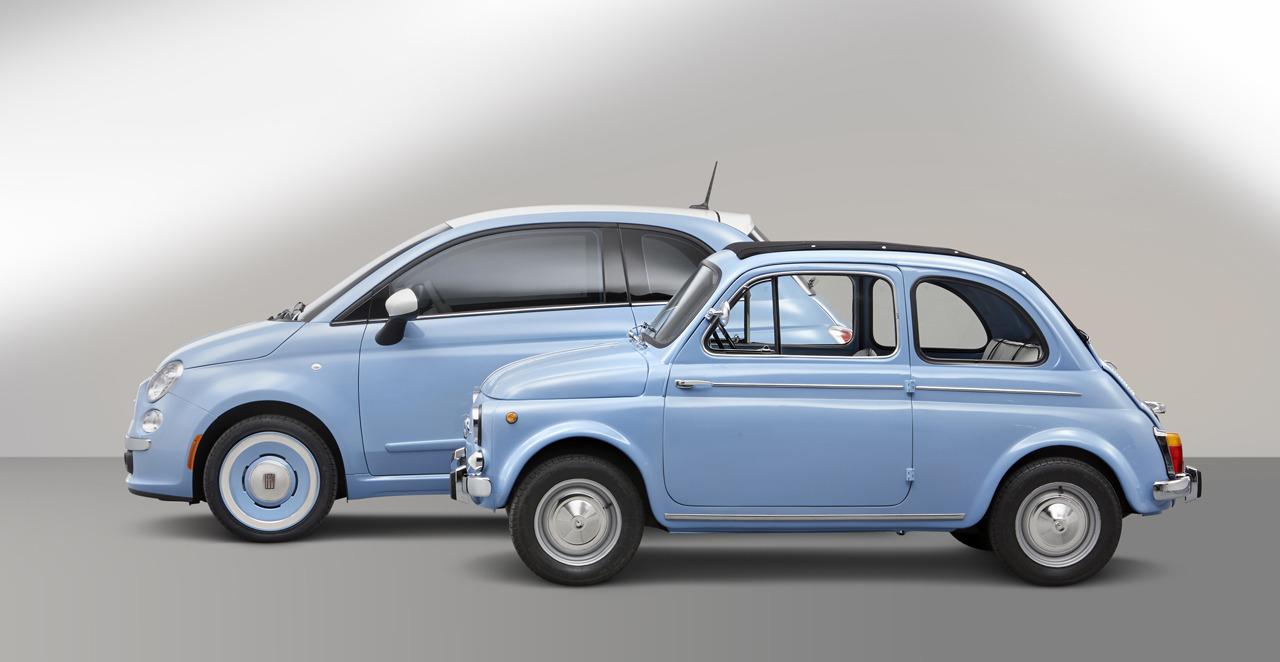 fiat 500 1957 edition nostalgie italo am ricaine blog automobile. Black Bedroom Furniture Sets. Home Design Ideas