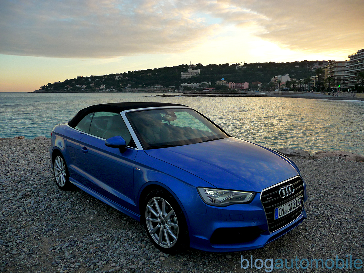 essai audi a3 cabriolet bonus s3 berline blog. Black Bedroom Furniture Sets. Home Design Ideas