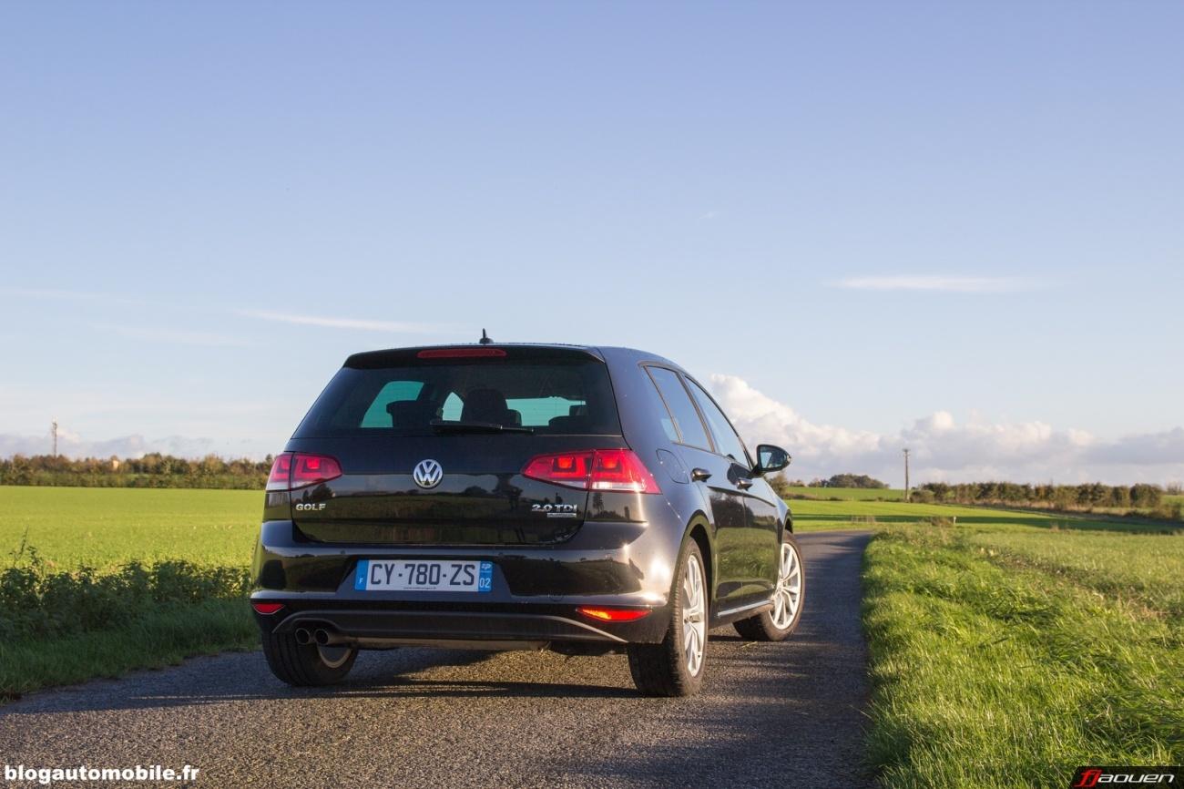 volkswagen trois jours en golf vii 2 0 l tdi 150 carat blog automobile. Black Bedroom Furniture Sets. Home Design Ideas