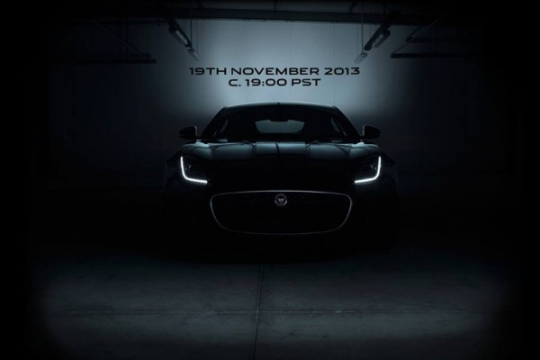 Jaguar F-Type Coupé teaser.1