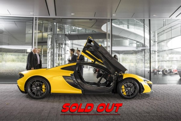 McLaren P1 : Sold out