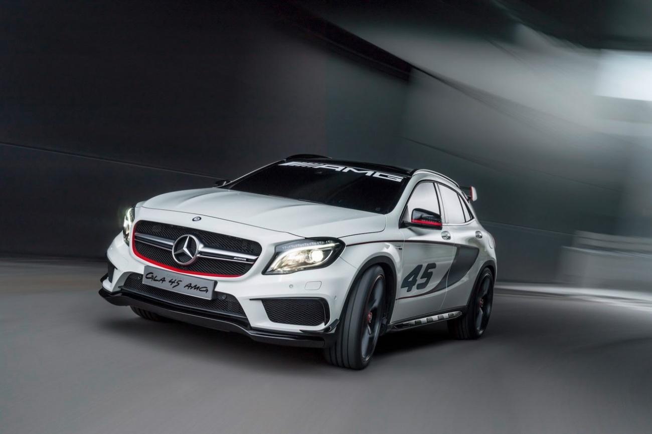Mercedes GLA 45 AMG Concept car 9 600x399 Mercedes GLA 45 AMG Concept ...