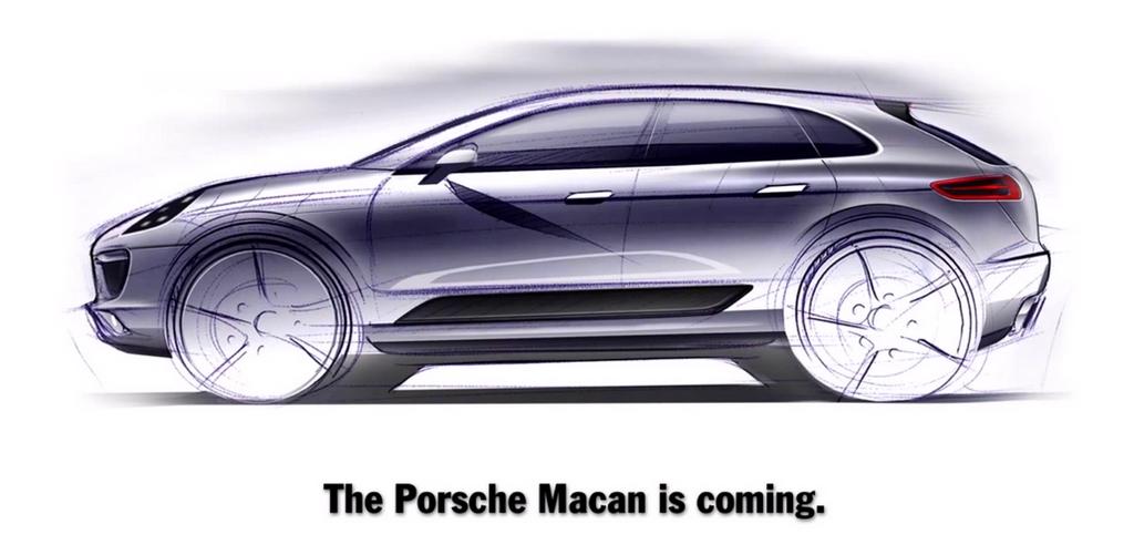 Porsche Macan Teaser officiel