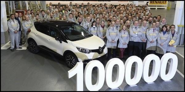 Renault 100000 Captur