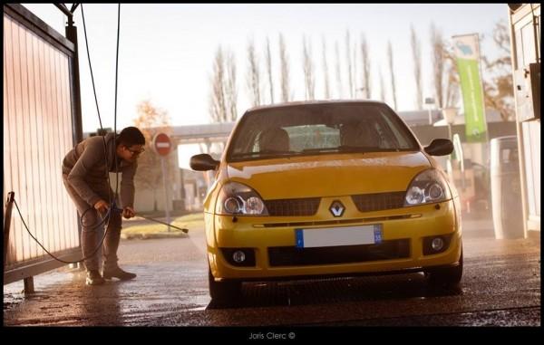Emeric Cadart et sa Clio RS